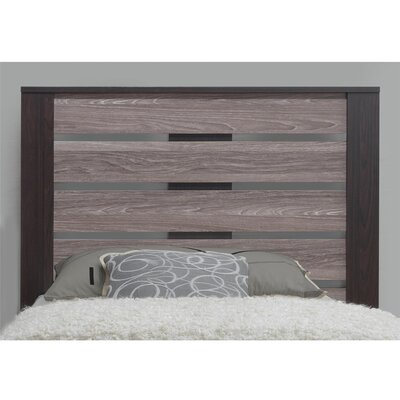 Chicopee Panel Headboard Finish: Espresso, Size: Twin