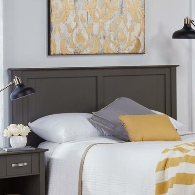 Myles Queen Panel Headboard Finish: Dark Gray