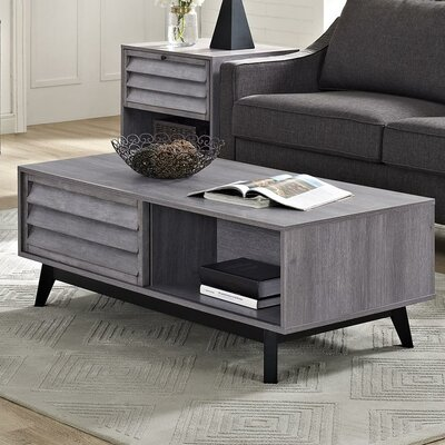 Dover Coffee Table Color: Gray Oak