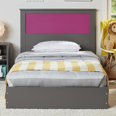 Ellerbe Twin Platform Bed with Reversible Headboard