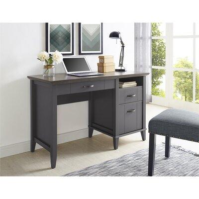 Myles Lift-Top Standing Desk Finish: Gray CHRL5179 39993424