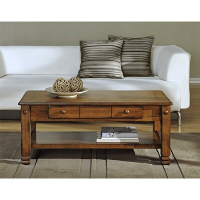 Owen Wood Veneer Coffee Table
