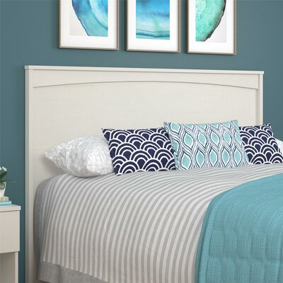Poulson Headboard Finish: Vintage White, Size: Twin