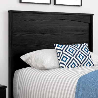 Poulson Headboard Finish: Black, Size: Twin