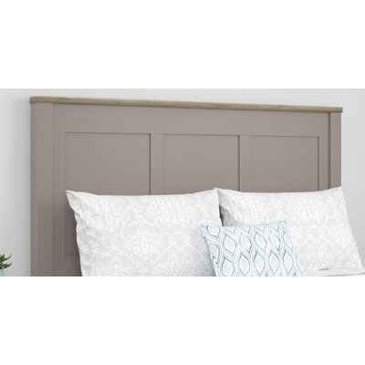 Callowhill Queen Panel Headboard Color: Gray