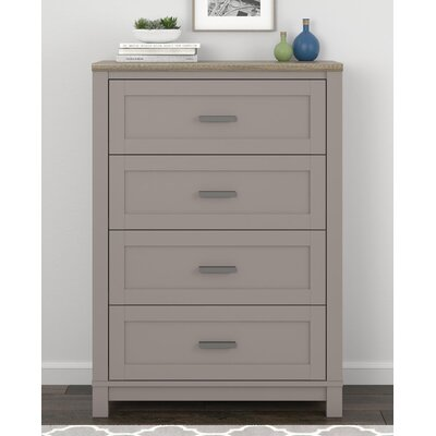 Callowhill 4 Drawer Dresser Color: Gray