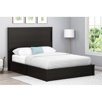 Poulson Platform Bed Size: Queen, Color: Espresso