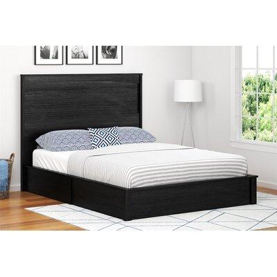 Poulson Platform Bed Size: Twin, Color: Black