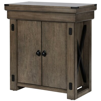 Neville 20 Gallon Aquarium Stand Finish: Rustic Gray