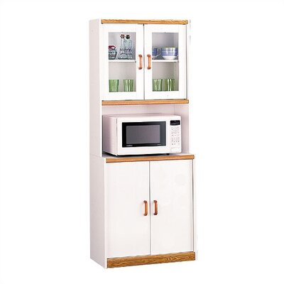 Cheap Ameriwood Carina Collection Microwave Center Kitchen Cart (AR1103)