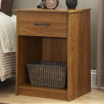 1 Drawer Nightstand Finish Bank Alder