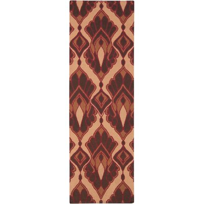 Voyages Cherry Ikat/Suzani Area Rug Rug Size: Runner 26 x 8