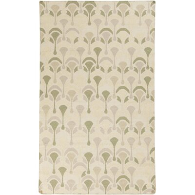 Voyages Olive Geometric Area Rug Rug Size: Rectangle 2 x 3