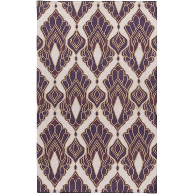 Voyages Violet Ikat/Suzani Area Rug Rug Size: Rectangle 2 x 3