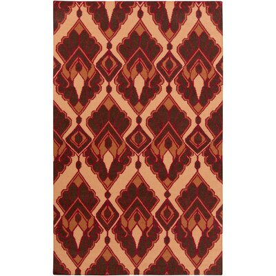 Voyages Cherry Ikat/Suzani Area Rug Rug Size: Rectangle 36 x 56