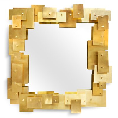 Jonathan Adler Puzzle Accent Wall Mirror 18622