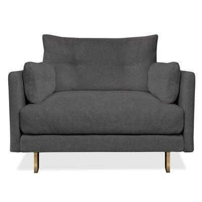 Malibu Armchair Upholstery: Charcoal