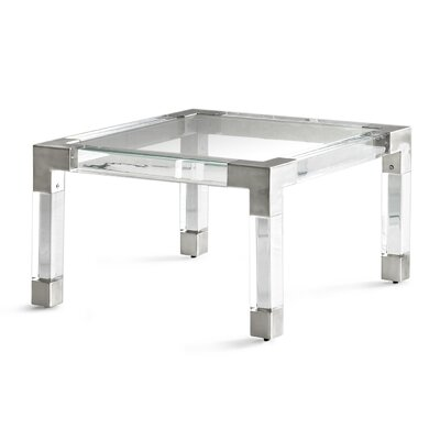 Jacques Coffee Table Finish: Nickel