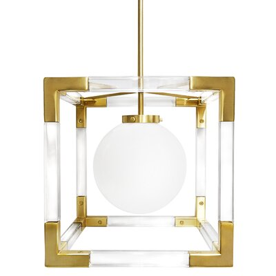 Jacques 1-Light Foyer Pendant