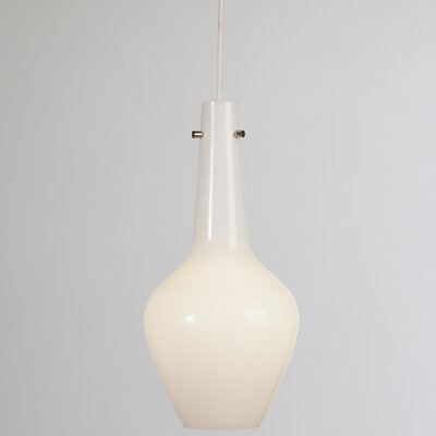 Jonathan Adler Capri 1-Light Pendant Finish: White