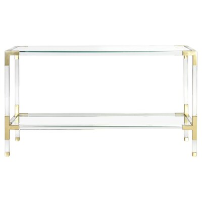Jacques Console Finish: Brass