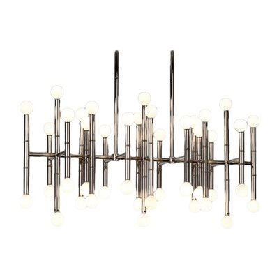 Meurice 42-Light Kitchen Island Pendant Finish: Polished Nickel