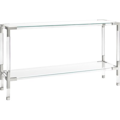 Jacques Console Finish: Nickel