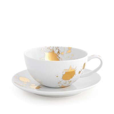 Jonathan Adler Malachite Tea Cup with Saucer 25535