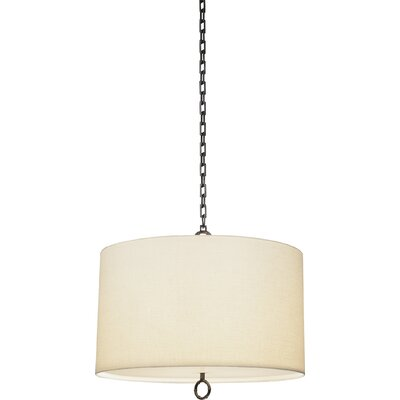 Meurice 3-Light Drum Pendant Finish: Patina Bronze