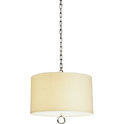 Meurice 3-Light Drum Pendant Finish: Polished Nickel