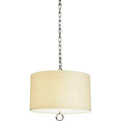 Meurice 2-Light Drum Pendant Finish: Polished Nickel