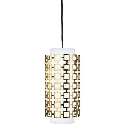 Jonathan Adler Parker 1-Light Pendant Finish: Antique Brass
