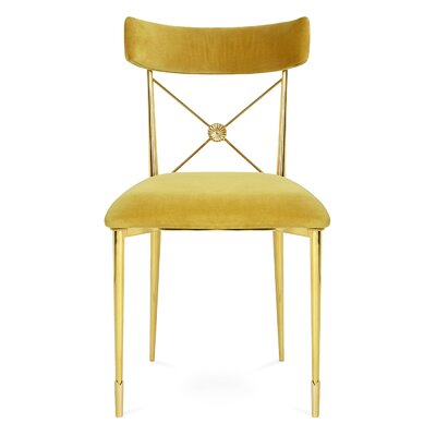 Rider Side Chair Color: Gold