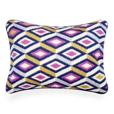 Bargello Pillow Color: Lavender/Camel