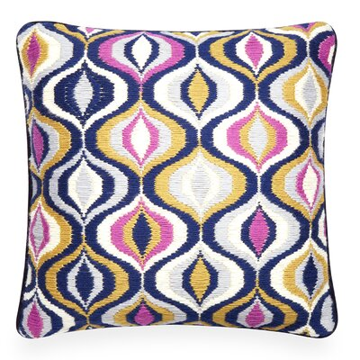 Bargello Pillow Color: Lavender/Camel