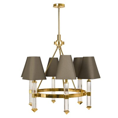 Jacques 6-Light Candle-Style Chandelier