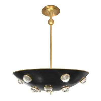 Globo Demilune 1-Light Bowl Pendant