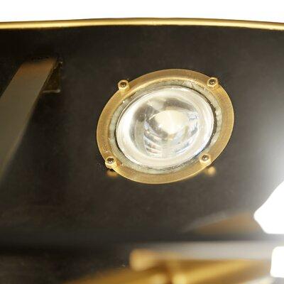 Globo Demilune 1-Light Bowl Pendant