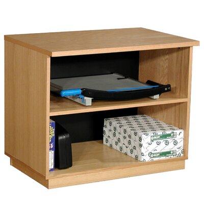 Modular Real Oak Wood Veneer Furniture 30 Standard Bookcase