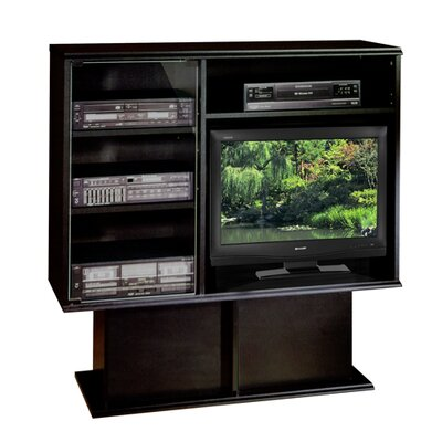 Americus Entertainment Center Color: Black