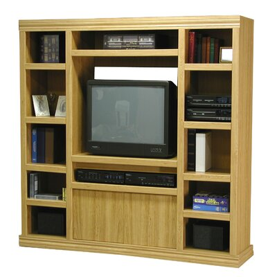 Charles Harris Entertainment Center Finish: Honey