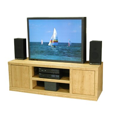 Charles Harris 70 TV Stand Color: Honey