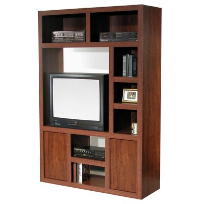 Charles Harris Entertainment Center Color: Dark Cherry