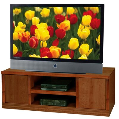 Charles Harris 70 TV Stand Color: Dark Cherry