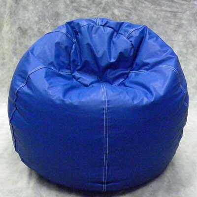 Kidz Rule Bean Bag Chair Upholstery: Blue