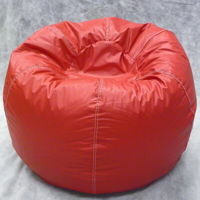 Kidz Rule Bean Bag Chair Upholstery: Red