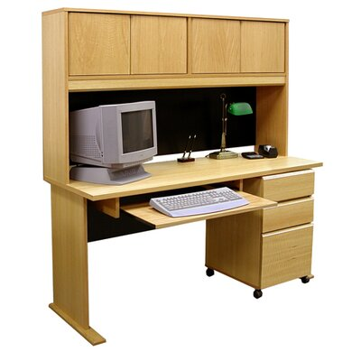 Rush Furniture Office Modulars Standard Computer Desk Office Suite - Accessory: Keyboard Shelf at Sears.com