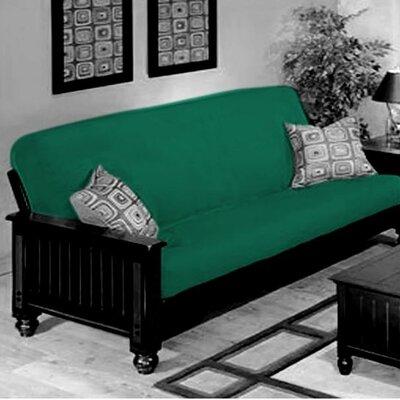 Futon Slipcover Upholstery: Green
