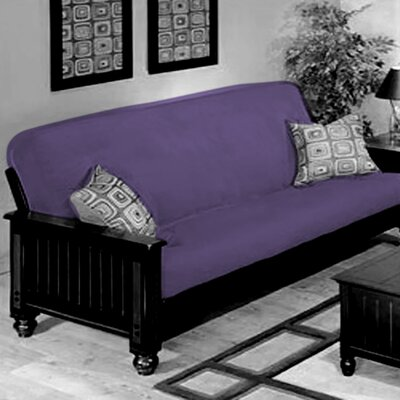 Futon Slipcover Upholstery: Lilac