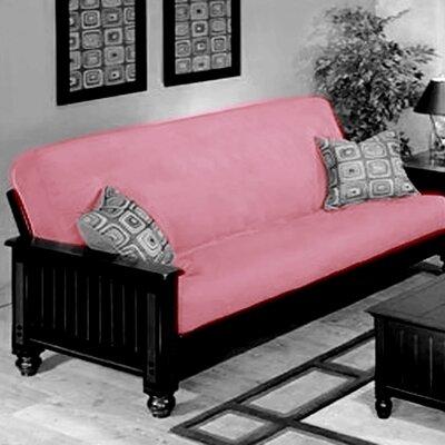 Futon Slipcover Upholstery: Rose